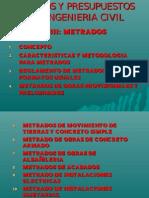 COSTOS Y PRESUPUESTOS - CAP III-METRADOS (R!).ppt