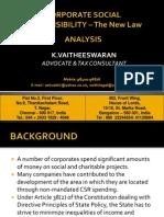 Companies Act - CSR