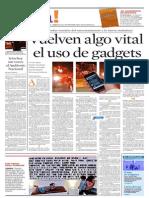 Gadgets y Redes Sociales 29 Agosto 2010