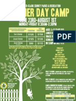 Summer Day Camp Flyer 2014