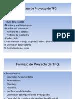 formato proyecto TFG