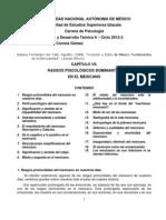 RASGOS PSICOLÓGICOS DOMINANTES EN EL MEXICANO