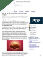 Aumentando a memória interna do seu Android (Tutoriais)