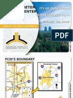 Perimeter Livable Center Initiative - City of Dun Woody 102909 - FINAL