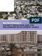 Microfinance, Poverty Reduction and MDGs