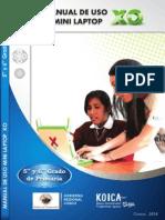 Manuales de Uso para las Mini laptop XO - Parte III