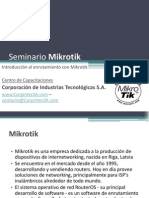Corp in Tec s a Capacitacionesenredes Seminariodeenrutamientoconmikrotik 121014170256 Phpapp02