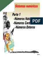 Clase Conjuntos numéricos I