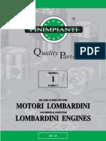 Lombardini motori parts
