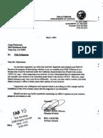 Cal DOJ Letter FAB10