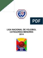 Reglamento Liga Chilena de Voleibol Liname 2014