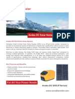 Andes DC Solar Home System (P sSeries)_en
