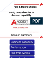 Devising a Business Analysis Capability Framework