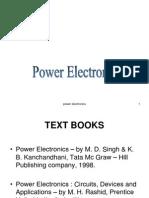 Power Electronics Unit1
