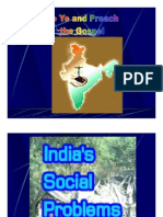 Social Problems of India