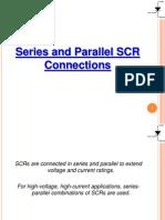Ser-par opr of SCRs