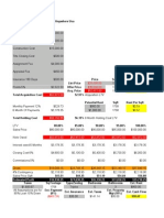 Real Estate Investing Profit Analysis Sheet