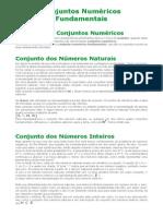 Conjuntos Numéricos Fundamentais