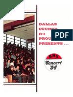 Buffalo High School 1984 Yearbook