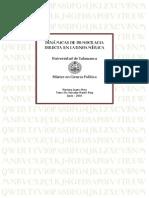 Dinamicas de La Democracia Directa en America Latina