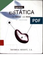 Mecanica Para Ingenieros Estatica Meriam and Kraige