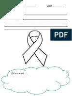 cancer ribbon worksheet