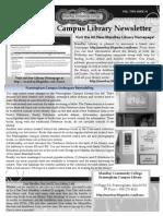 Fall 2012 Newsletter v 2 i 1