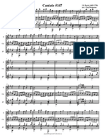 Bach Cantate 147(Score)