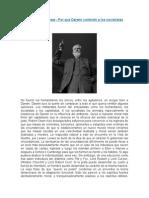 George Bernard Shaw- Por qué Darwin contentó a los socialistas.