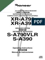 Manual Pioneer A390