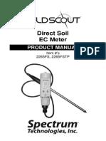 Manual Spectrum Medidor de Conductividad