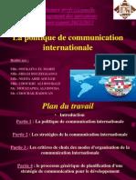 Politique de Communication Internationale