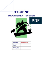Hygiene Management System Procedures