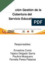 CAPACITACION EN Gestión de la Cobertura del Servicio Educativo