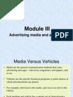 Module IV-Media Planning Schedule