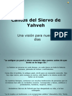 Cantos del Siervo de Yahveh Hoy Araceli González Ejercicio 3 Actividad 4 Proféticos