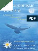 Un Bouddhisme Moderne-Vol 3