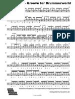 JoJo Mayer Groove for DW and Beatz08
