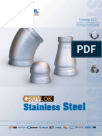 Gruvlok Stainless Steel
