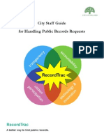 City Staff Guide to Public Records Requests - Final 2014