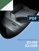 Guia de Usuario Samsung Scx4725f-Fn