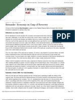Full Text of Federal Reserve Chairman Ben Bernanke's Speech in Jackson Hole, Wyo.