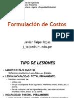 10. Formulación de Costos de Accidentes