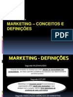 1 - Conceitos de Marketing