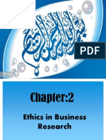 Ethics in Bussiness Research Final