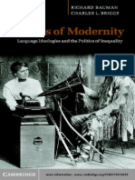 213905833 Voices of Modernity