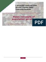 Basic Concepts of Population Genetics