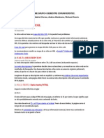 Informe Grupo 4 Semestre Coruniversitec