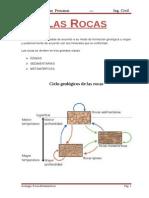 Rocas Igneas,Sedimentarias y Metamorficas