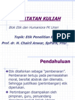 5. Etik Penelitian Dan Biomedik
